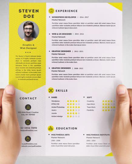 100+ Free Resume Templates [ PSD / Word ] | UTemplates ...
