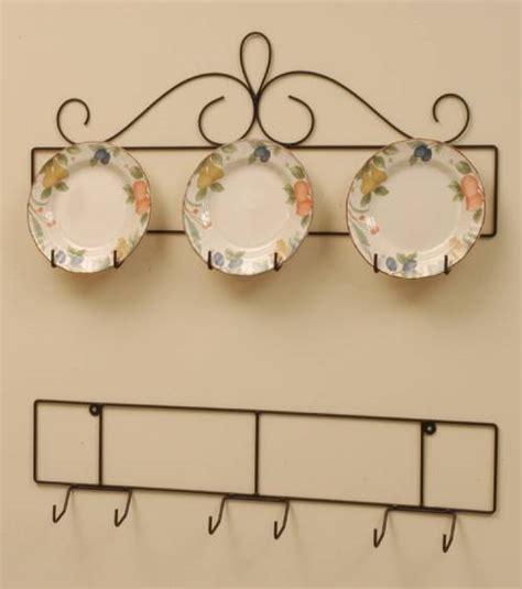 wrought iron plate hanger horizontal