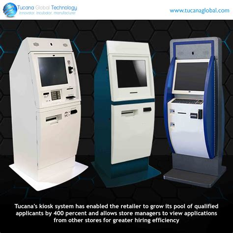 Hiring Kiosk by Tucana S Kiosk System Has Enabled The Retailer To Grow