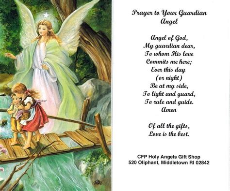 Guardian Prayer by How To Contact Your Guardian Prayer To Your