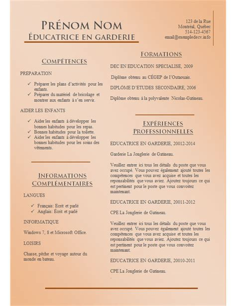 Les Exemples Des Cv by Mod 232 Les Et Exemples De Cv 780 224 786 Exemple De Cv Info