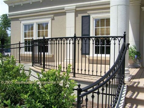 metal porch railing aluminum balcony railing 2