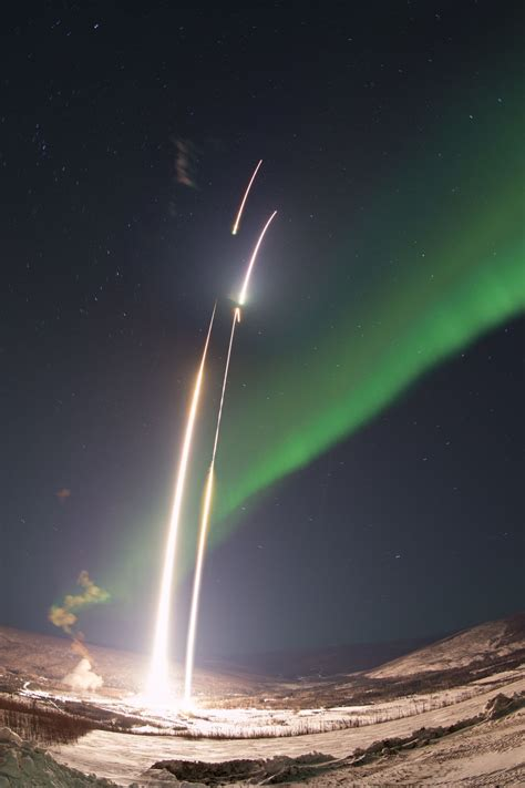 NASA Rockets Launch to Unveil Mysteries of the Northern ...