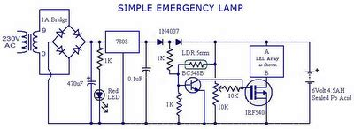 simple emergency light eeweb community