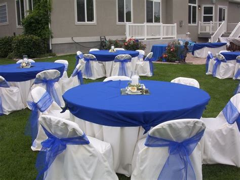 royal blue table decorations royal blue wedding table decorations royal blue wedding