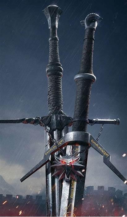 Witcher Hunt Wild Wallpapers Swords Mobile Desktop