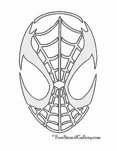 Bemalte Kürbisse Vorlage : spiderman mask stencil airbrush pinterest plotten ~ Markanthonyermac.com Haus und Dekorationen
