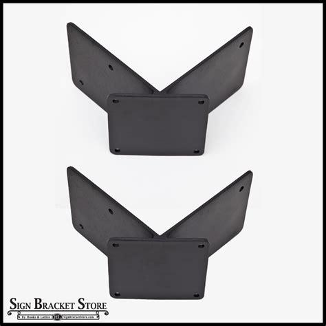corner wall light bracket corner mount banner bracket adapter pair 90 degrees 2