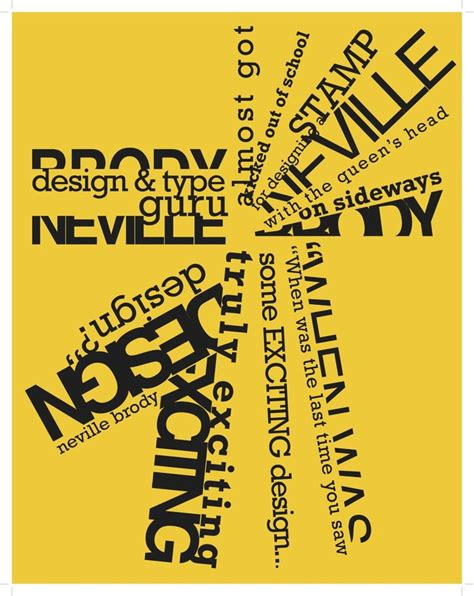 typography ii quarter system 401 typographer posters rit college of imaging arts sciences
