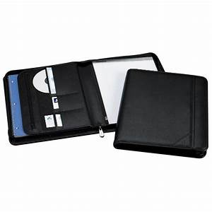 samsill 70820 sterling zipper pad holder letter 8 1 2quot x With letter pad holder