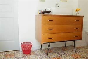 Meuble Salle De Bain Vintage : d co la salle de bain r tro jungle ritalechat ~ Teatrodelosmanantiales.com Idées de Décoration