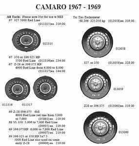 1969 Camaro Factory Tach Wiring Diagram