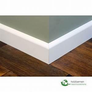 Sockelleisten Weiß Holz : fu leisten sockelleisten birke massiv 15x90 x 2400 mm prof ~ Michelbontemps.com Haus und Dekorationen