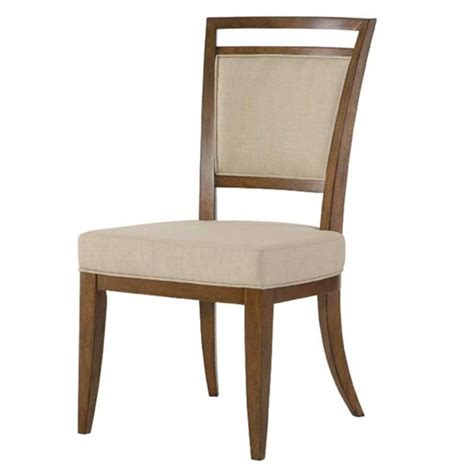american drew grove point upholstered dining chair in
