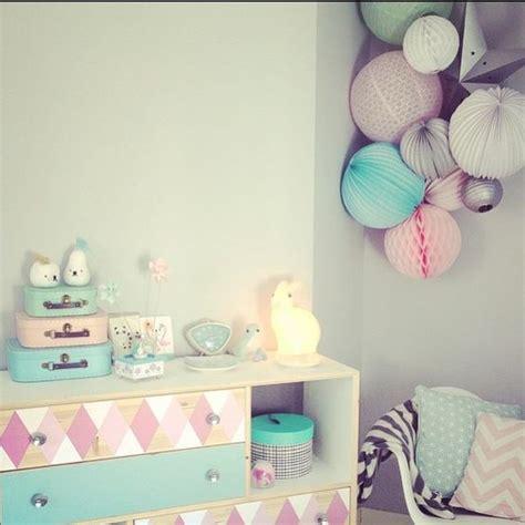 chambre pastel décoration chambre enfant