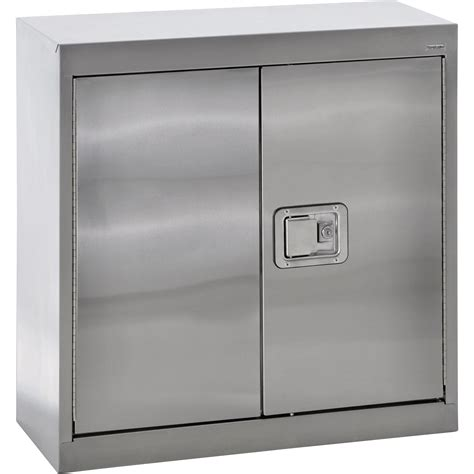 metal wall storage cabinets sandusky buddy stainless steel wall cabinet 30in w x