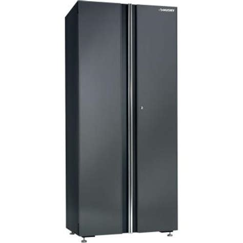 home depot husky cabinet husky 32 in floor cabinet 32fc01bp thd the home depot