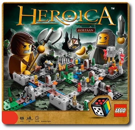 lego heroica fortaan game review father geek