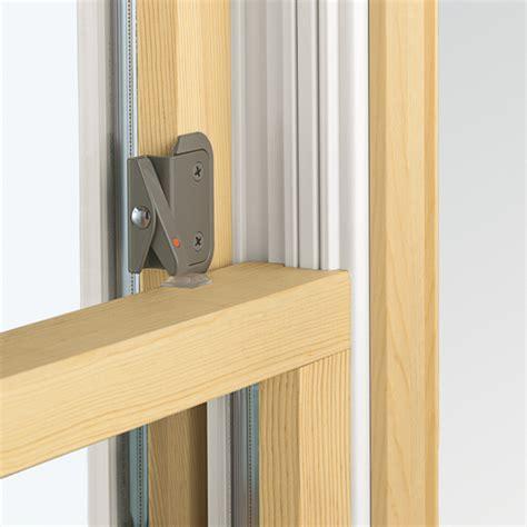 double hung window opening control device andersen windows  doors