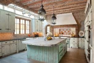Primitive Kitchen Island Ideas by 10 Rustic Kitchen Designs That Embody Country