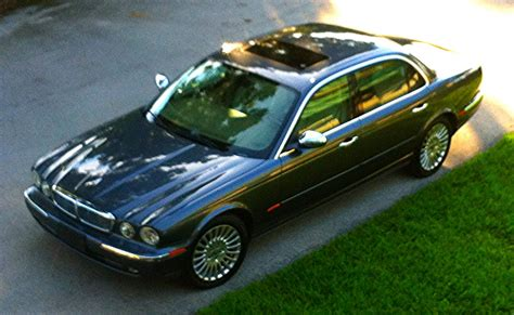 First Jaguar. 2005 Xj8 Vanden Plas