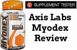 Axis Labs Myodex Review