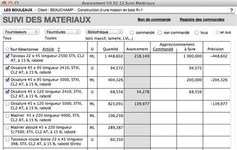 modèle lettre de commande fournitures modele planning suivi de chantier ccmr