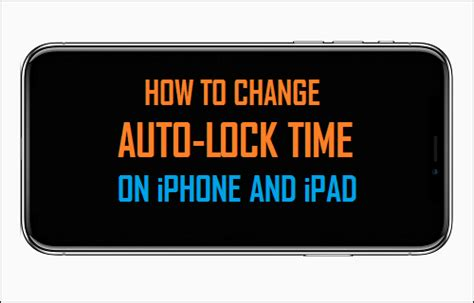 how to turn auto lock on iphone how to change auto lock time on iphone and
