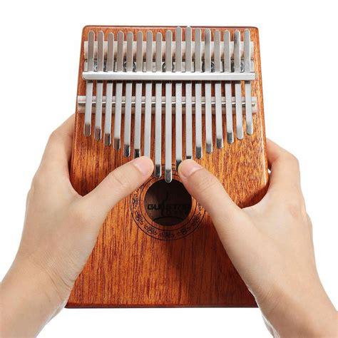 buy   keys wood kalimba mahogany thumb