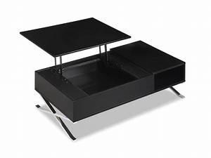 Table Basse Salon Ikea : table basse noir laque ikea ~ Teatrodelosmanantiales.com Idées de Décoration