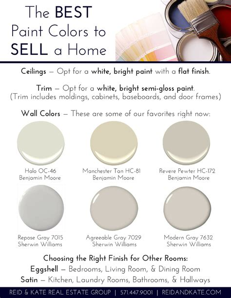 the best paint colors to sell a home voss real estate