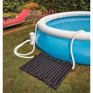 chauffage solaire piscine hors sol pas cher With tapis solaire pour piscine