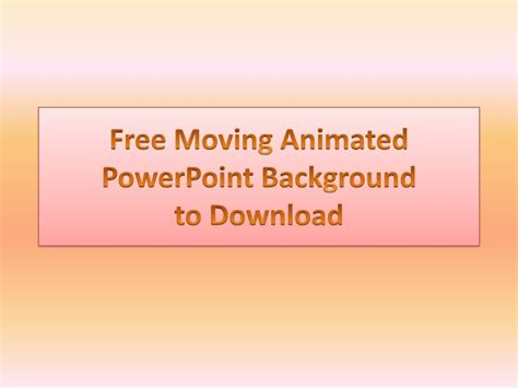 powerpoint templates  animated background