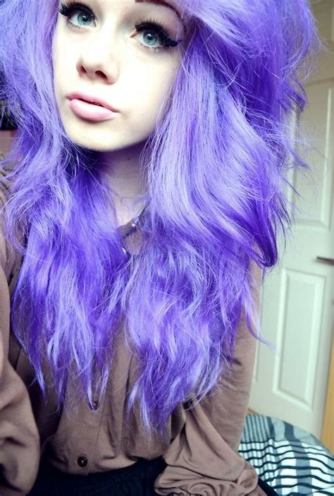 Purple Pastel Hair Beauty Pinterest