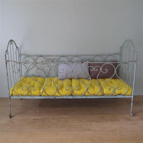 tout pour mon bureau lit cage ancien fer forgé enfant