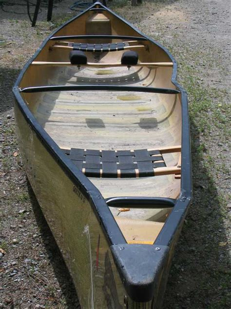 Skiff Vs Canoe by Kevlar Canoe Repair Souris River Dealer