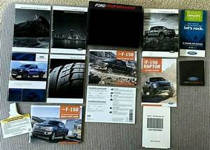 2018 Ford F150 Raptor Performance Owner U0026 39 S Manual With Case