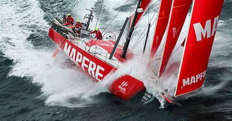 mapfre leidt volvo ocean race vloot rond schotland clubracer