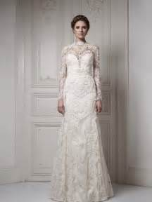 wedding dresses with sleeves and lace fall lace wedding dress with sleeves sang maestro