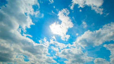 Sky Backgrounds Sky Clouds Timelapse Background Stock Footage