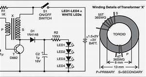 Wiring  U0026 Diagram Info  Simple Led Torch Wiring Diagram