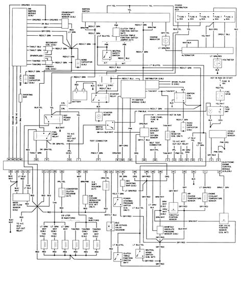 Wiring Diagram On 91 Ranger 91 ranger crank sensor the eec dis and coils but i