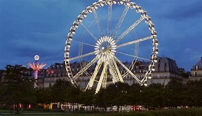 Wheel Paris Carnival Night Ferris Cinemagraphs Cinemagraph