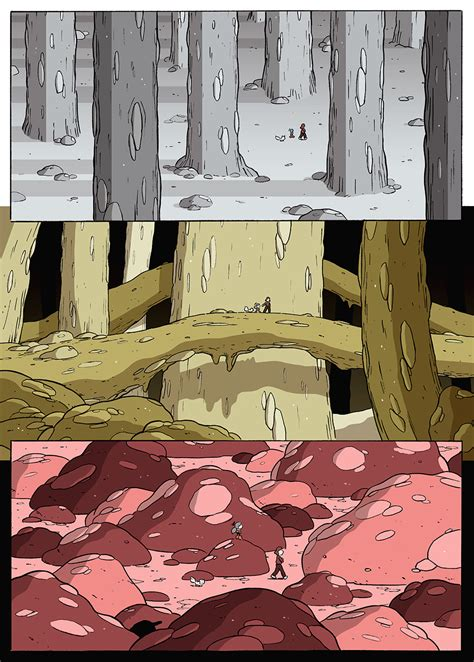 hilda   stone forest luke pearson illustration