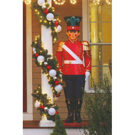 giant commercial grade fiberglass toy soldier christmas