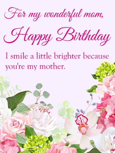 birthday cards  mother birthday greeting cards
