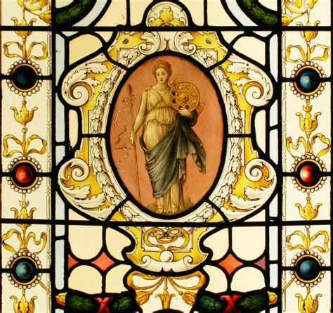 ref vic victorian stained glass window fortuna
