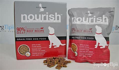 Isle Of Dogs Nourish Grain Free Dog Food Review (2018