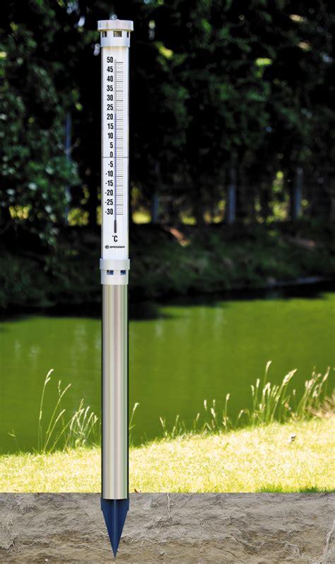 Bresser Solar Gartenthermometer Bresser