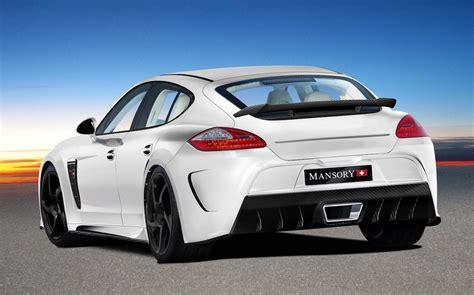 Foto Tuners Mansory Porsche Panamera Sketch Mansory